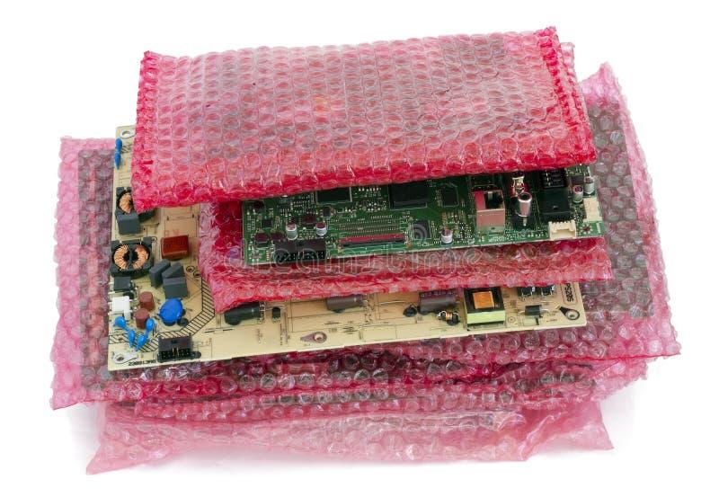 大电子印制电路板 库存图片