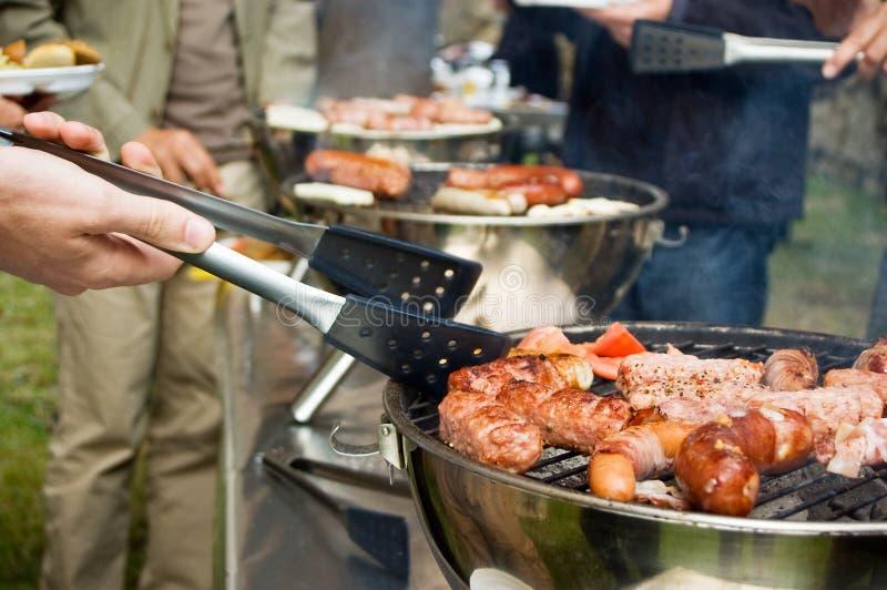 大的烤肉 免版税库存图片