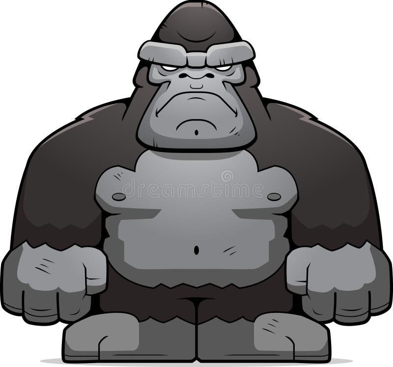 大的猿 库存例证
