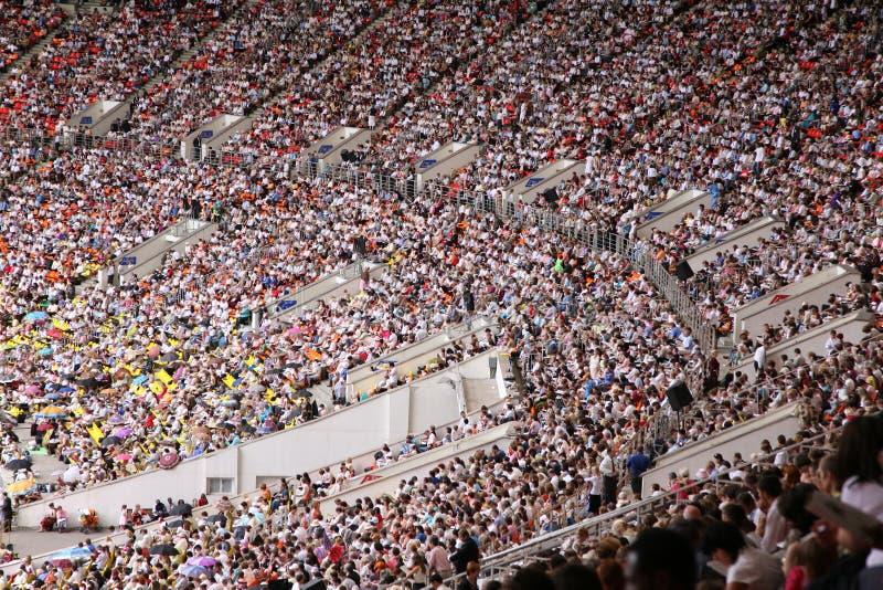 大的观众席 库存照片