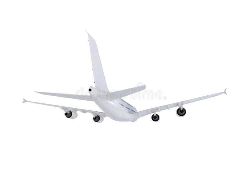 大的飞机 向量例证