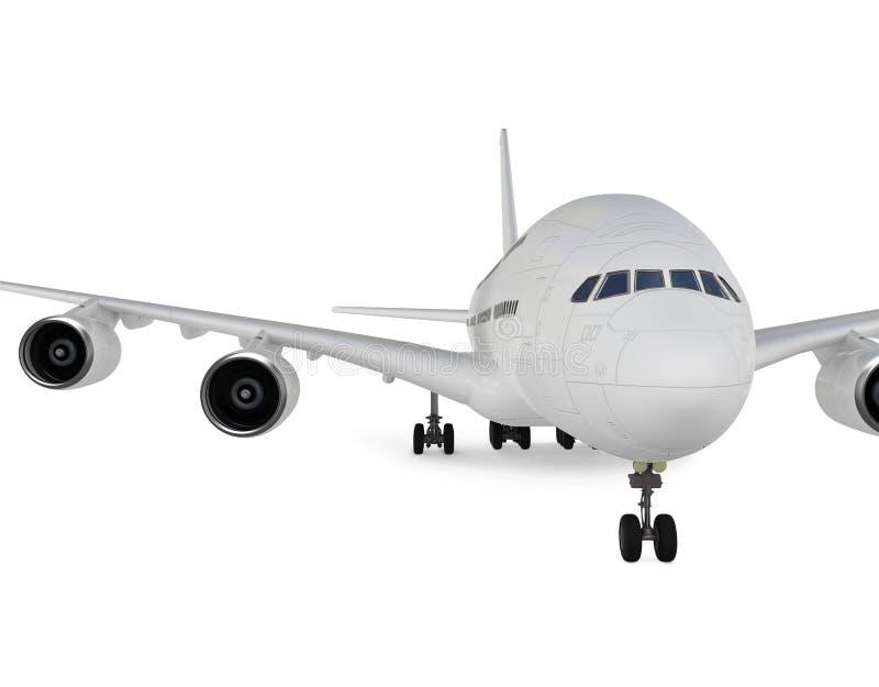 大的飞机 库存例证