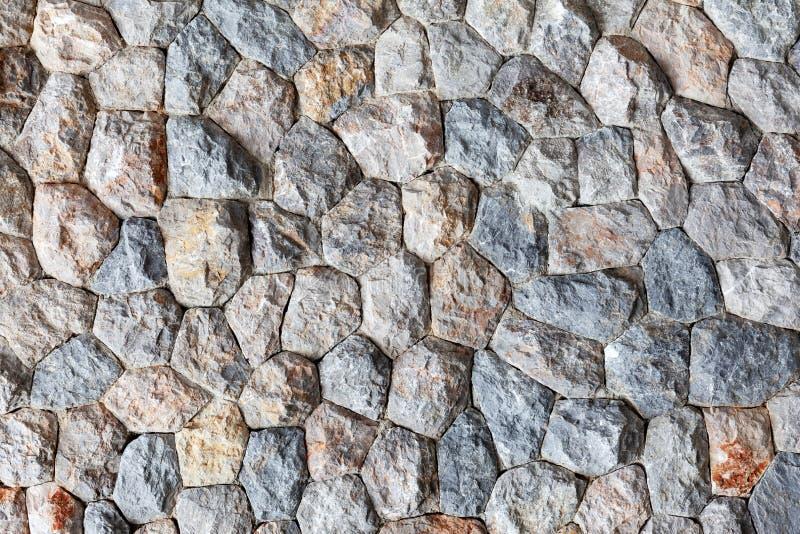 大石墙的样式背景和设计的 库存图片