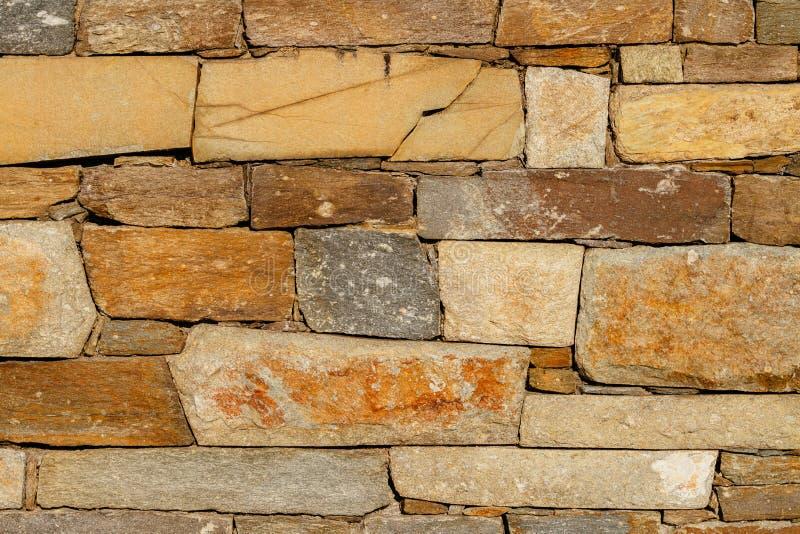 大石墙纹理 库存照片