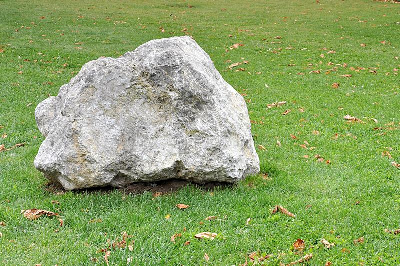 大石头和自然 库存图片
