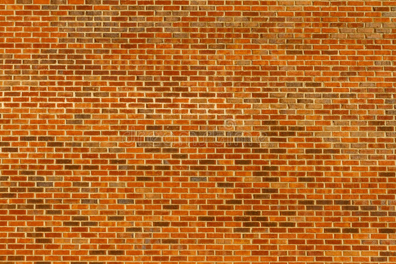 大砖墙 免版税库存图片