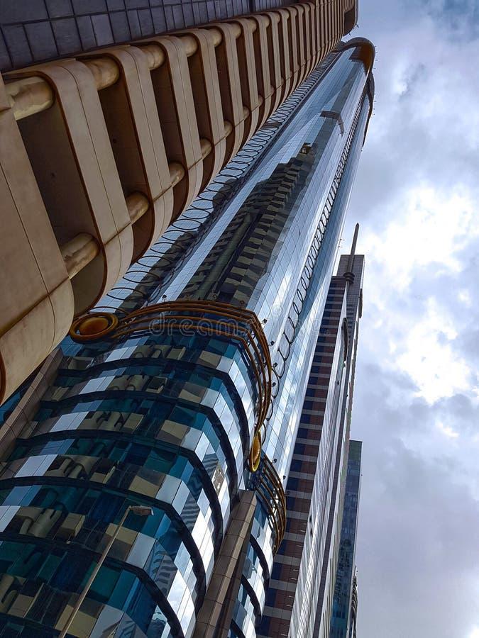 大约2月2017年-阿联酋-一的迪拜  库存照片