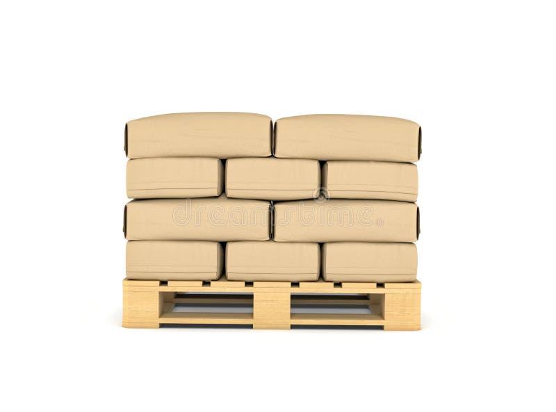 大纸袋基于翻译板台的 皇族释放例证