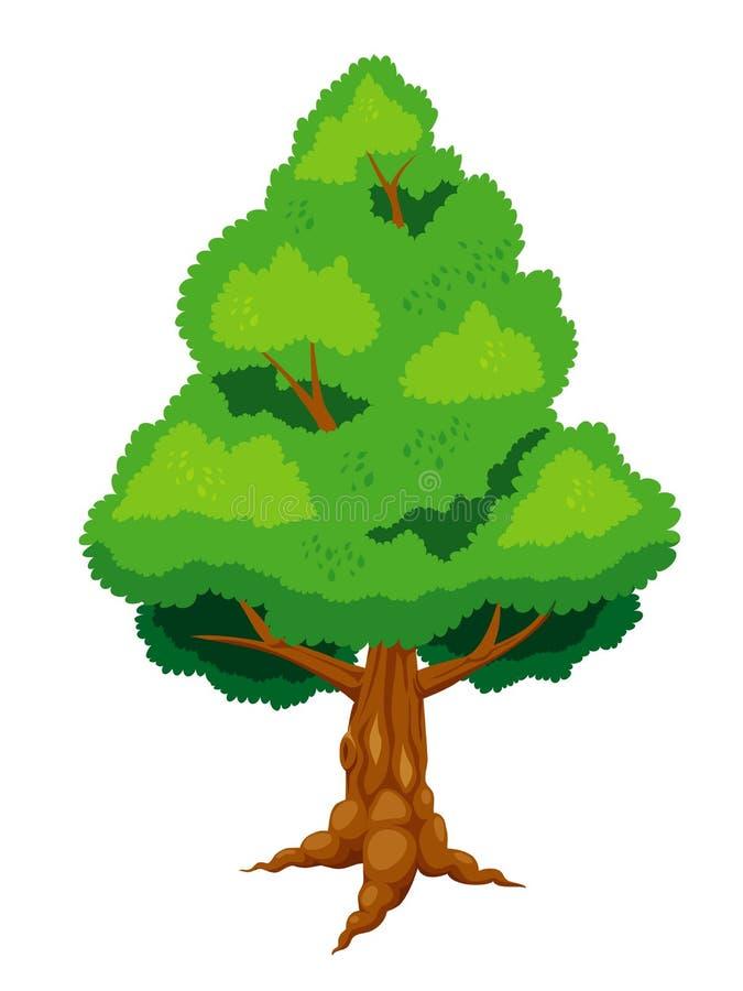 大结构树 皇族释放例证