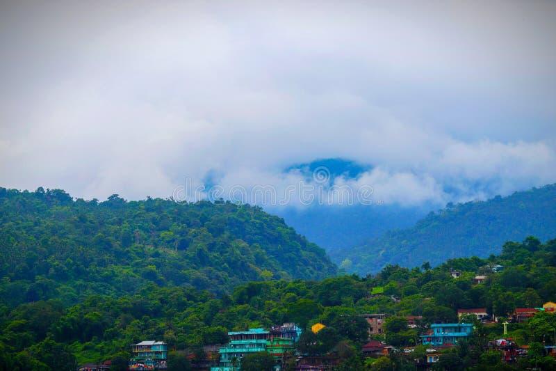 大自然的神奇之美|锡尔赫特,孟加拉国|孟加拉国 库存照片