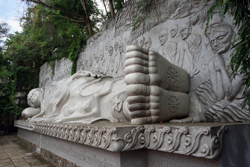 大菩萨雕象 免版税图库摄影