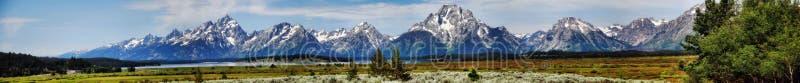 大蒂顿国家公园美国 免版税库存照片
