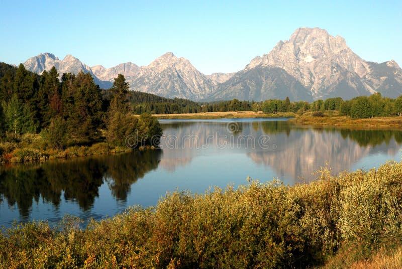 大蒂顿国家公园,怀俄明,美国 库存照片