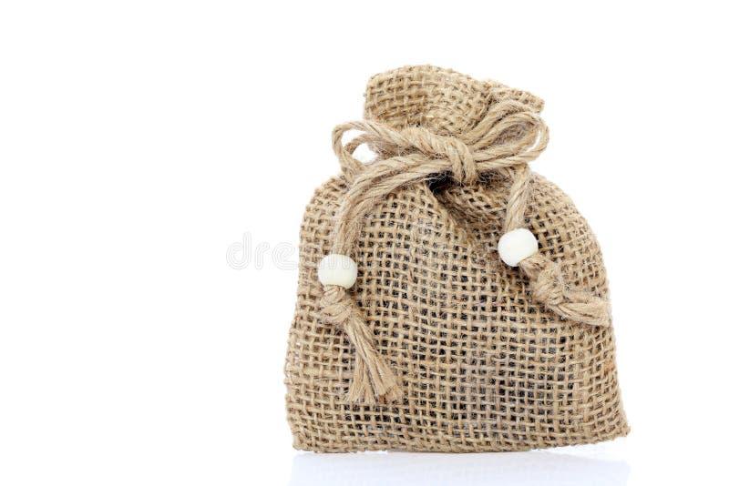 大袋纺织品 免版税图库摄影