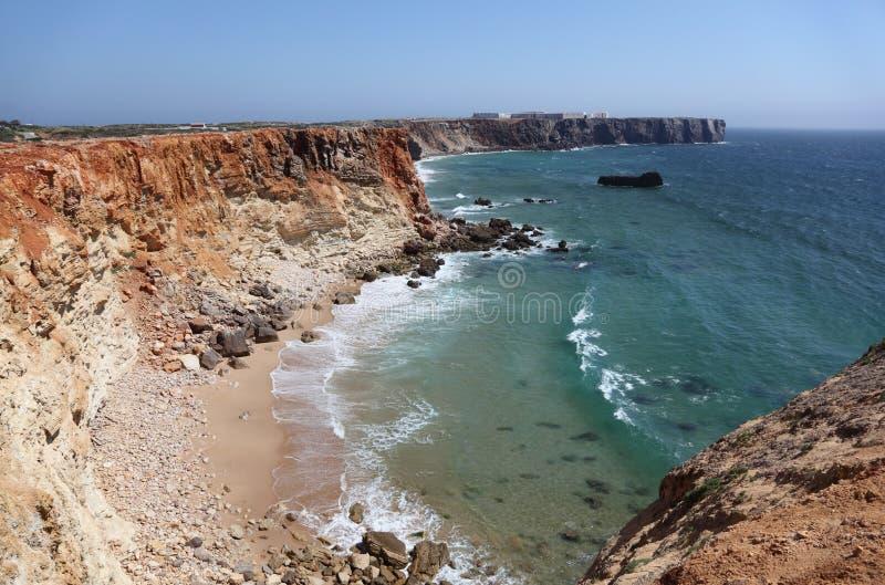 大西洋海岸葡萄牙 免版税库存图片