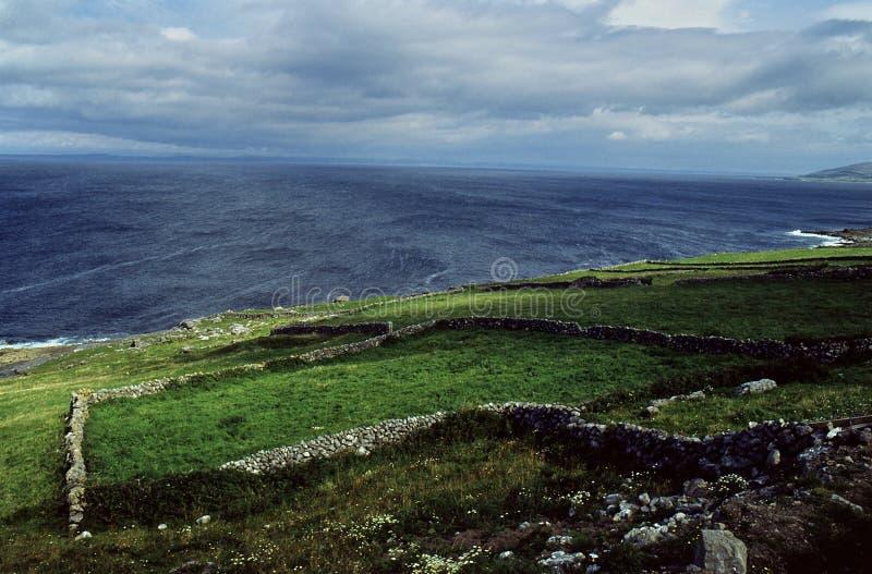 大西洋爱尔兰风暴 图库摄影