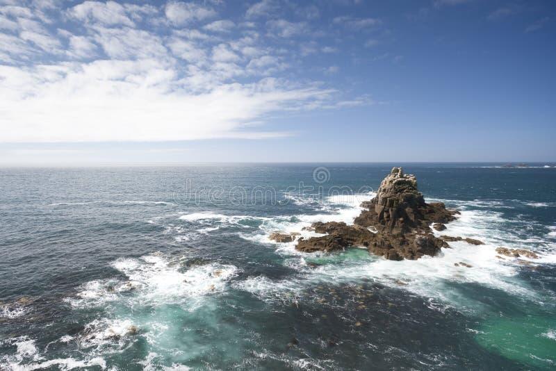 大西洋视图 免版税库存图片