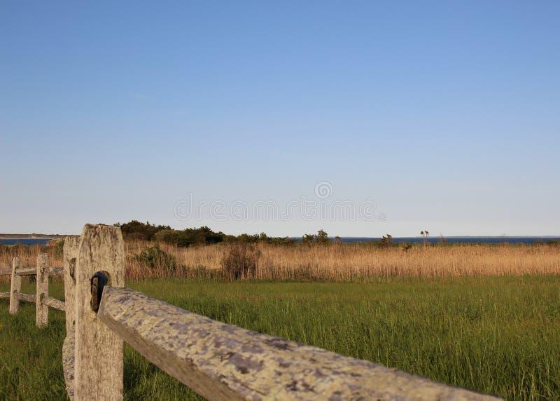 大西洋-新英格兰海岸看法  库存图片