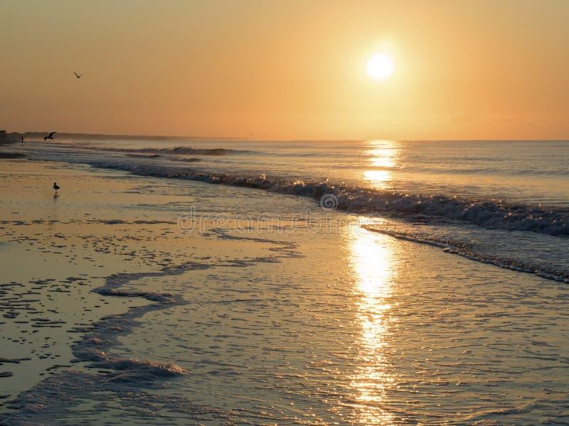 大西洋日出 免版税图库摄影