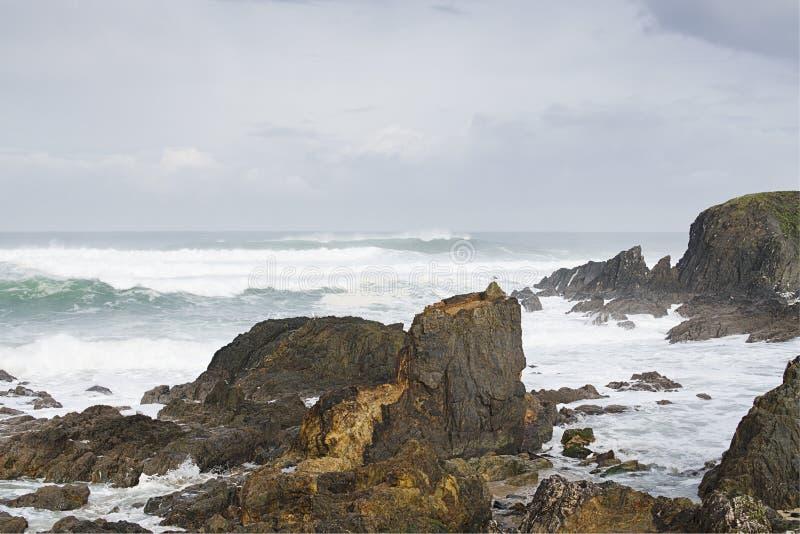 大西洋海岸线 库存图片