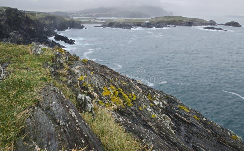 大西洋海岸线 库存照片