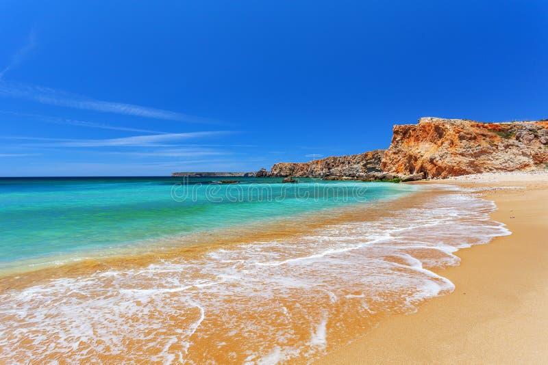 大西洋-萨格里什阿尔加威葡萄牙 库存图片