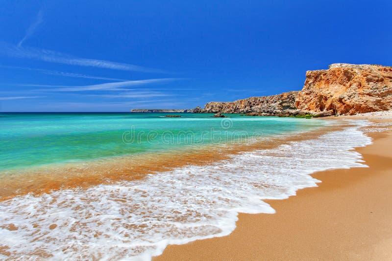 大西洋-萨格里什阿尔加威,葡萄牙 免版税图库摄影