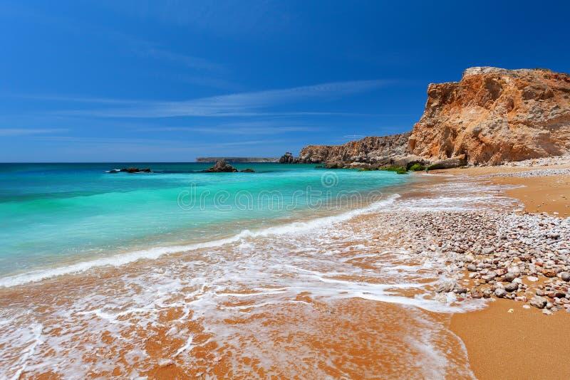 大西洋-萨格里什,阿尔加威,葡萄牙 免版税库存图片