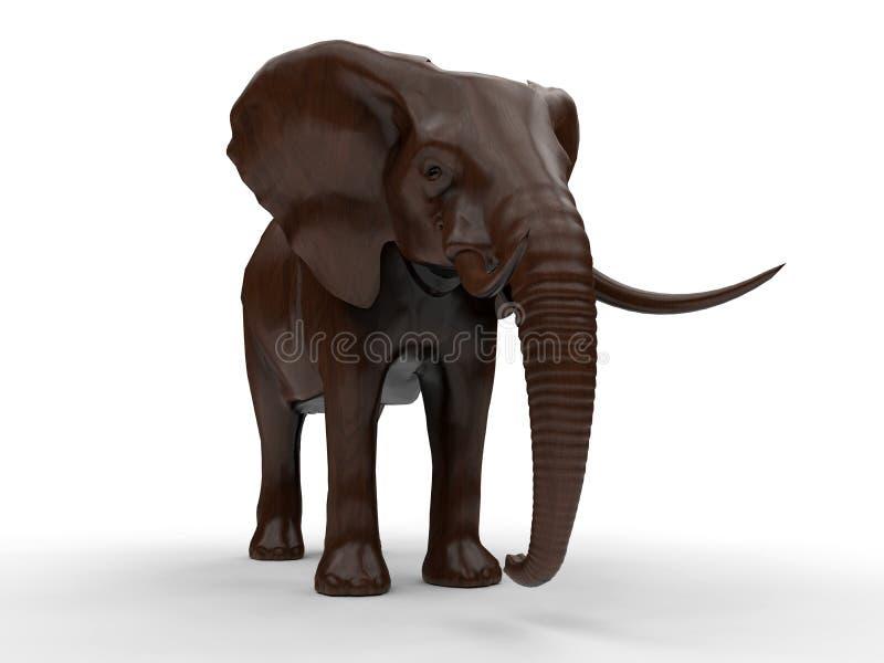 大象例证 皇族释放例证