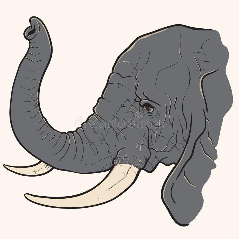 Download 大象头 向量例证. 插画 包括有 电话, 向量, 吉祥人, 照相机, 动画片, 技术, 小配件, 机器人 - 72354412