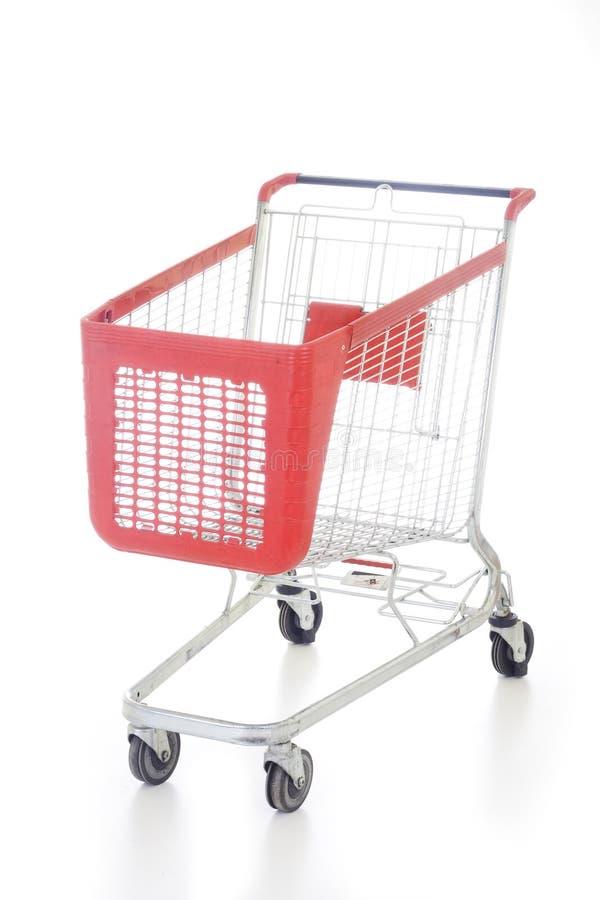 大购物车红色购物 库存照片