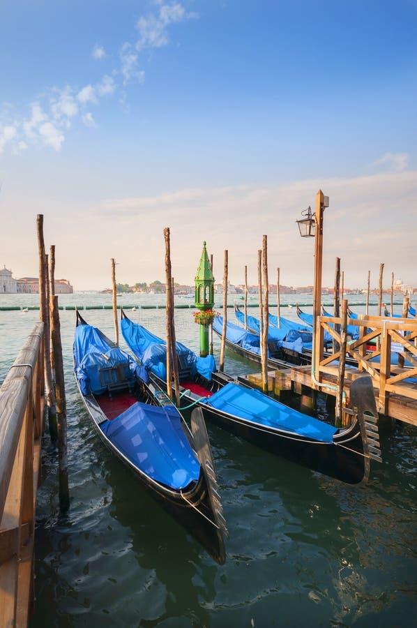 大运河在威尼斯,意大利 库存图片