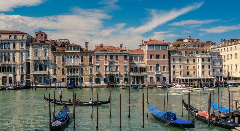 大运河威尼斯式 库存图片