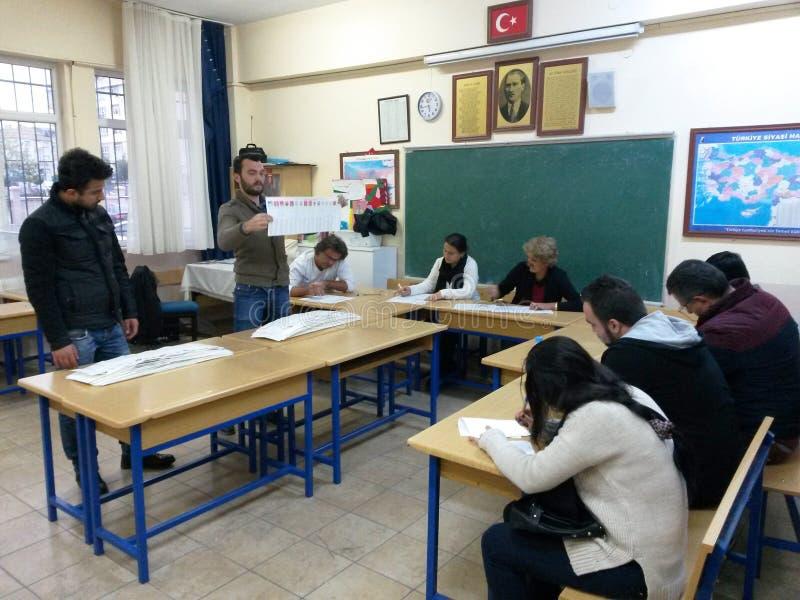 大选在土耳其, 2015年 免版税库存图片