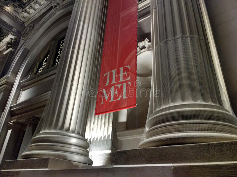 大都会艺术博物馆,见面,纽约,美国 图库摄影