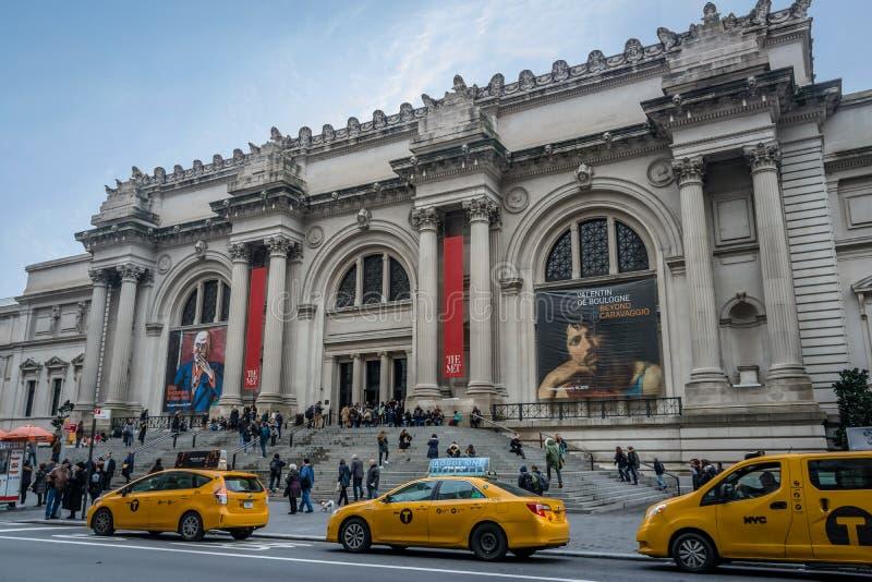 大都会艺术博物馆-纽约,美国 免版税库存照片