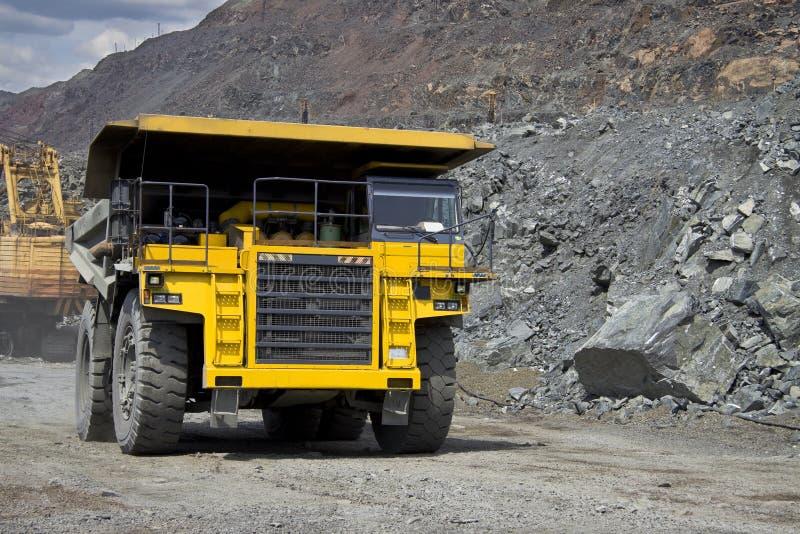 大量开采的卡车 免版税库存图片