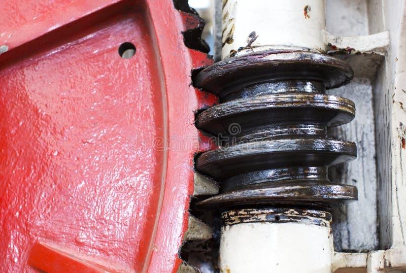 大钢齿轮 库存图片