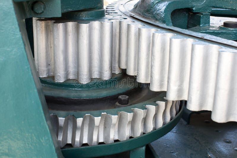 大钢齿轮 免版税库存图片