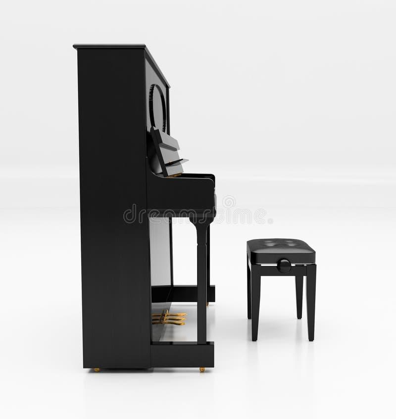 大钢琴 皇族释放例证