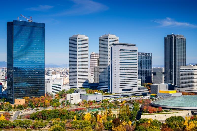 大阪商业区 免版税图库摄影