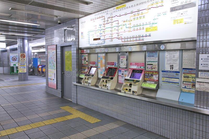 大阪地铁 图库摄影