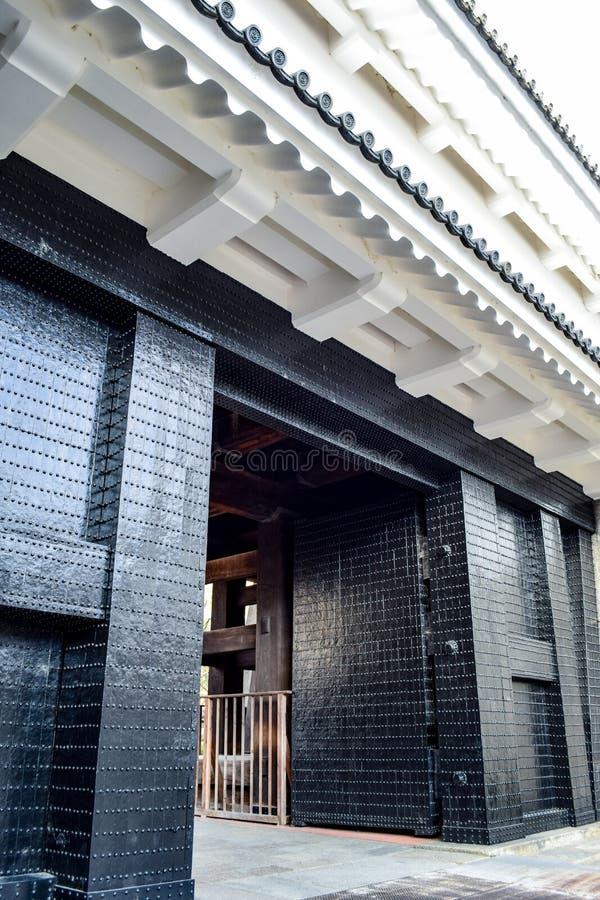 大阪城堡- Oteguchi入口门 免版税库存照片