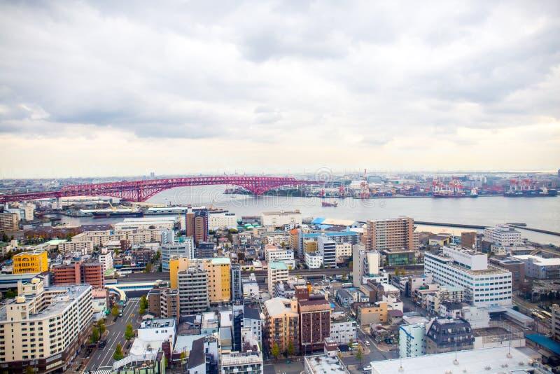 大阪都市风景 库存图片