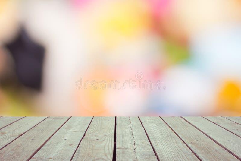 大阳台的Defocused和模糊的照片 免版税库存图片