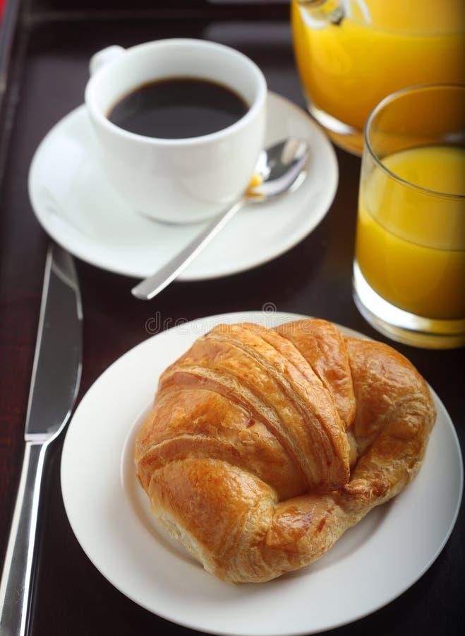 大陆的早餐 库存照片