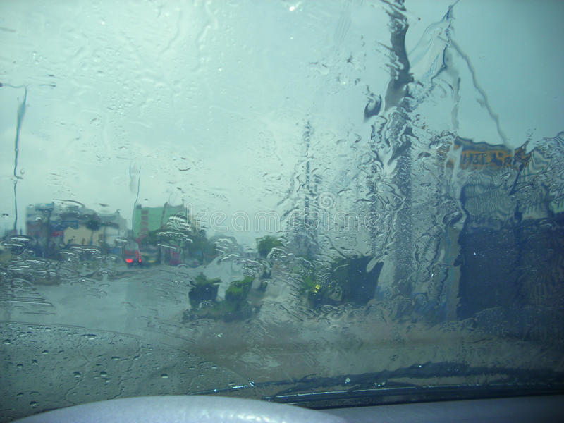 大雨雨珠 库存图片