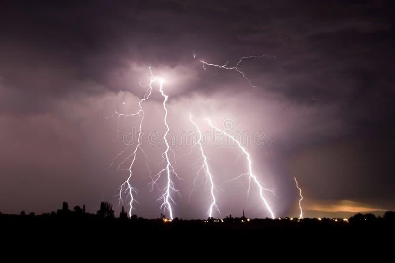 大风暴 库存图片
