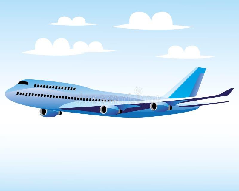 大飞机 向量例证