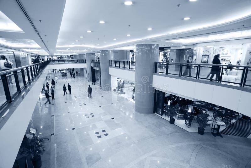 大香港购物中心 图库摄影